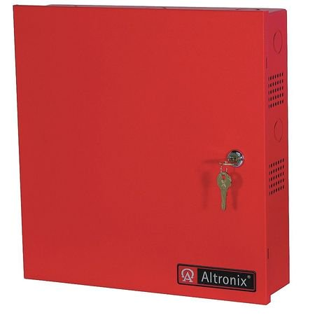 ALTRONIX AL300ULMR Power Supply 5 Fuse 12/24VDC @ 2.5A Red