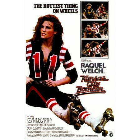 - Kansas City Bomber (1972) 11x17 Movie Poster