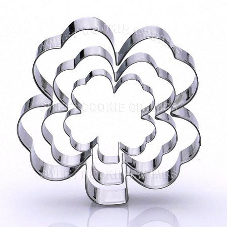 Clover Cookie Cutter Set - Stainless Steel](Walmart Cookie Cutters)