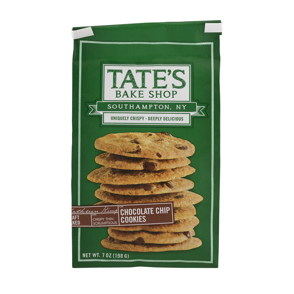 Tate's Bake Shop Cookies Chocolate Chip, 7.0 OZ