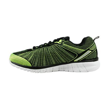 Fila Men's Speedweave Run Ii Neon Green Black Ankle High Running Shoe 10.5M