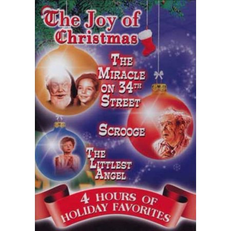 The Joy Of Christmas, 4 Hours Of Entertainment With Miracle On 34th Street, Scrooge, The Littlest Angel Plus More, 2008 Edition ()