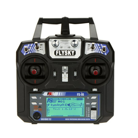 Flysky FS-i6 AFHDS 2A 2.4GHz 6CH Radio System Transmitter for RC Helicopter Glider with FS-iA6 Receiver Mode - Futaba Rc Transmitter