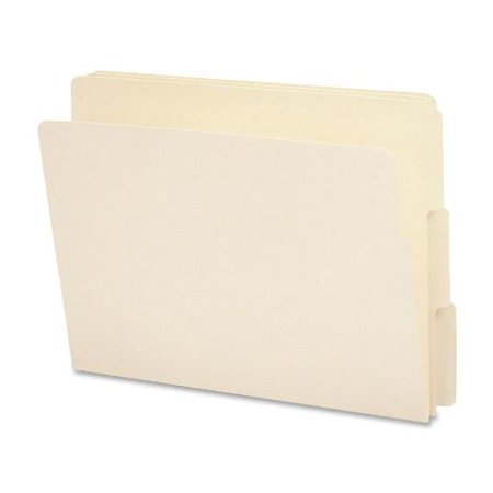 Smead End Tab File Folder, 1/3-Cut Tab, Letter Size, Manila, 100 per Box (24130) - image 1 of 1