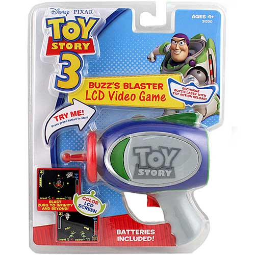 Toy Story 3 Buzz's Blaster Video Game