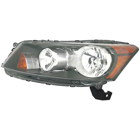 Dorman 1592188 Headlight For Honda Accord, Clear Lens (Accord Clear Corner Lens)