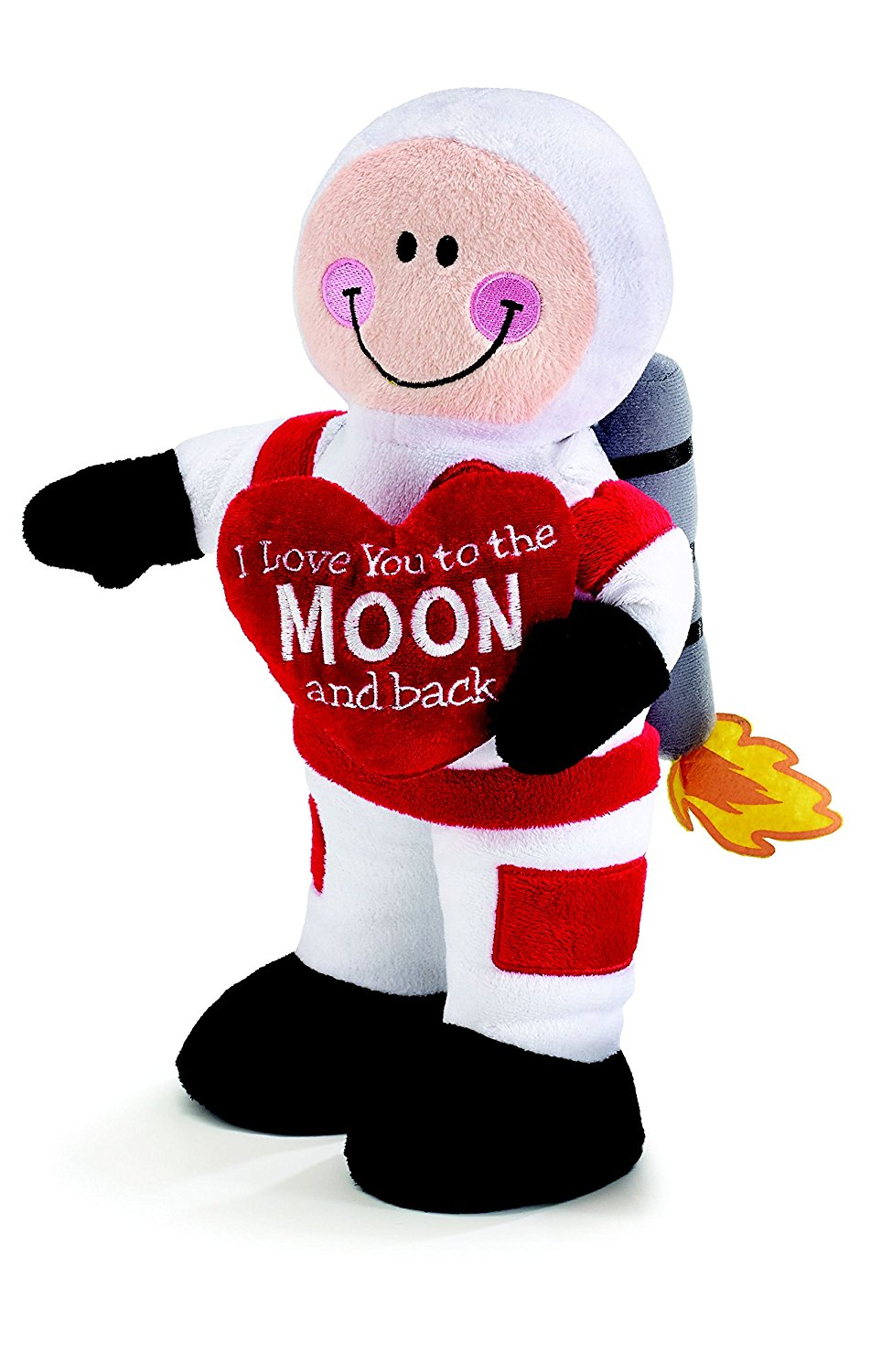 Burton And Burton Lucas Astronaut Valentine Plush I Love You To The
