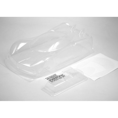 (Exotek Racing P-ZERO GT Clear Body with Lexan Wing EXO1762)