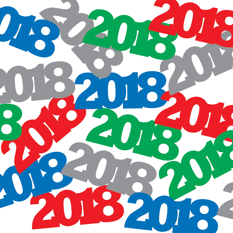 2018 Confetti, each