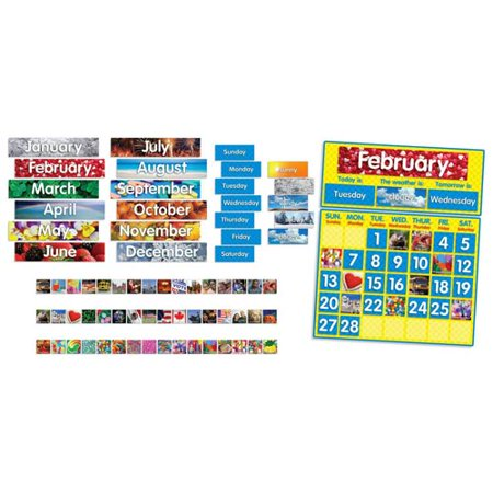 Photo Calendar Bulletin Board](Bulletin Board Calendar)
