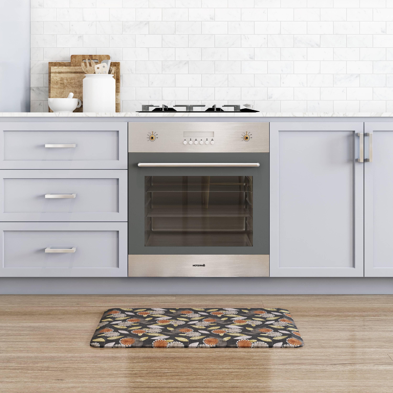 Newlife By Gelpro Designer Comfort Kitchen Mat 20x32 Origami Smokey