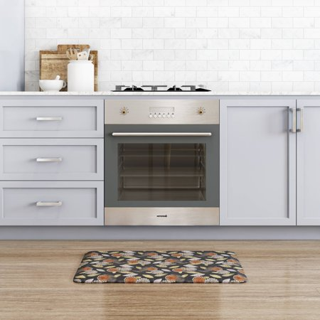 NewLife by GelPro Designer Comfort Kitchen Mat 20x32 Origami Smokey Night (Gelpro Mats)