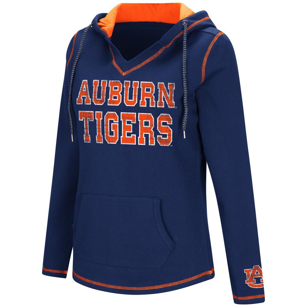 Colosseum Spike Auburn University Tigers Fleece Hoodie