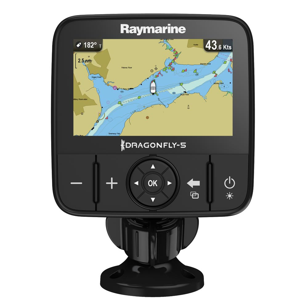 RAYMARINE DRAGONFLY 5M GOLD GPS ONLY NAVIONICS GOLD LAKES