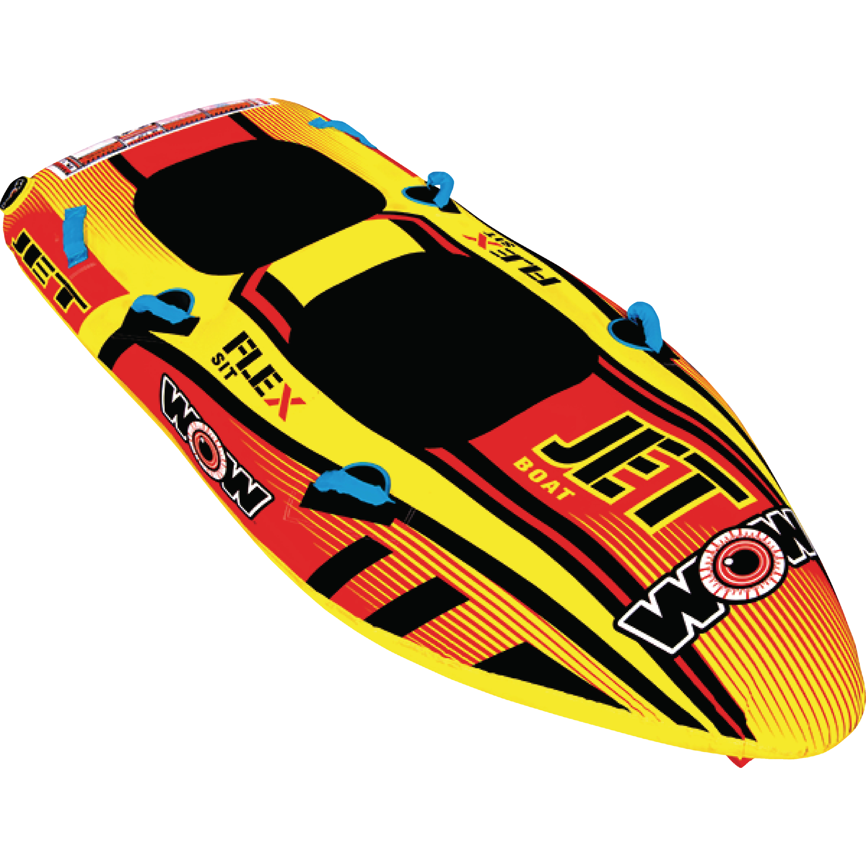WOW 171030 Jet Boat Inflatable Towable for 1-2 Riders by WOW Watersports USA