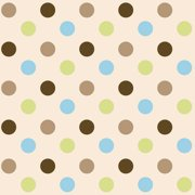 """Frog Dots, Multi-colored, 42/43"""" Width F"""
