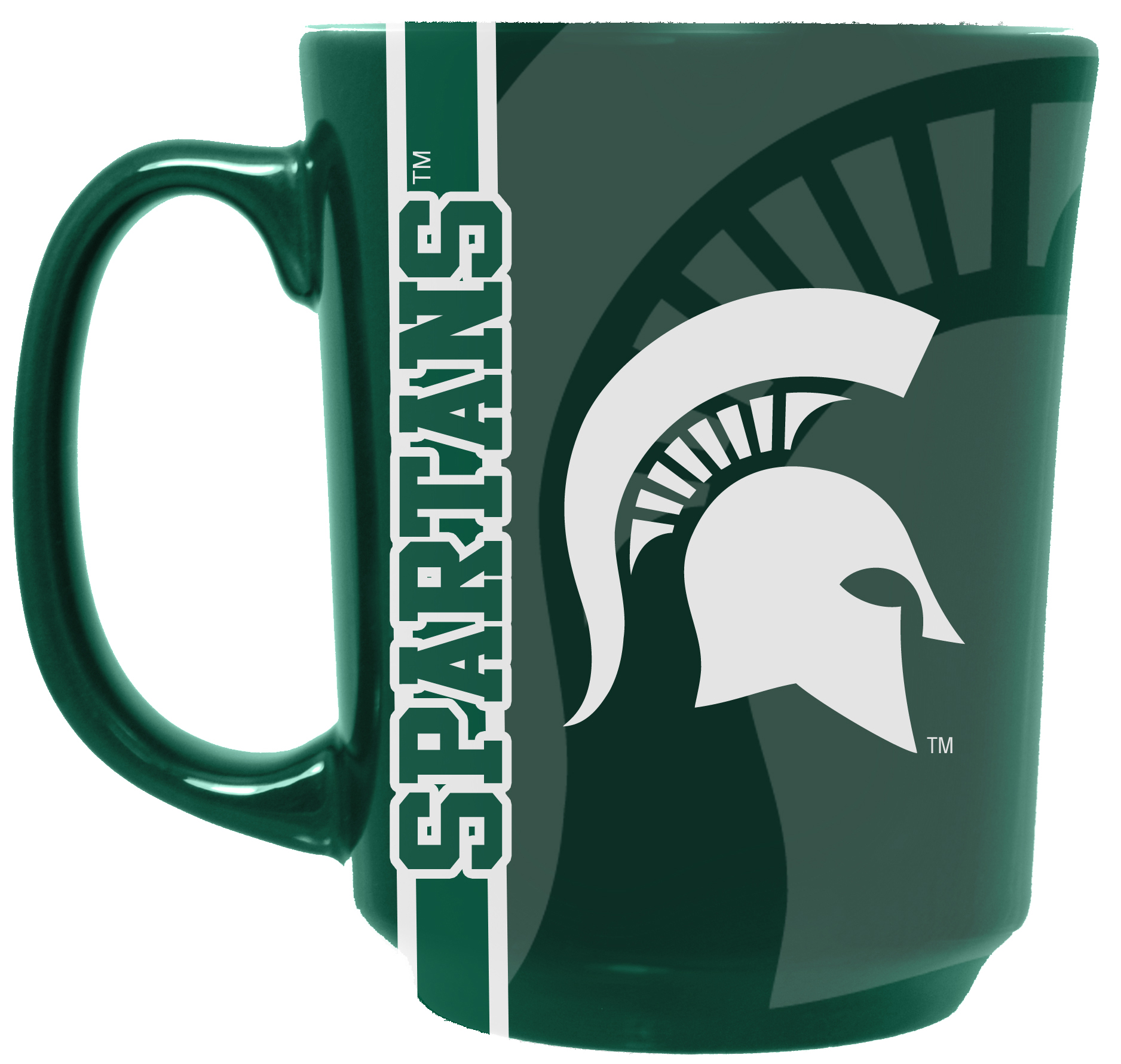 NCAA Reflective Mug, Michigan State