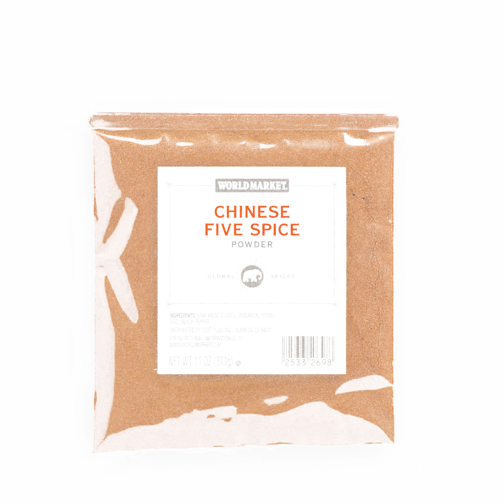 Chinese Five Spice Seasoning Spice Bag 1.1 oz each (4 Items Per Order, not per case)
