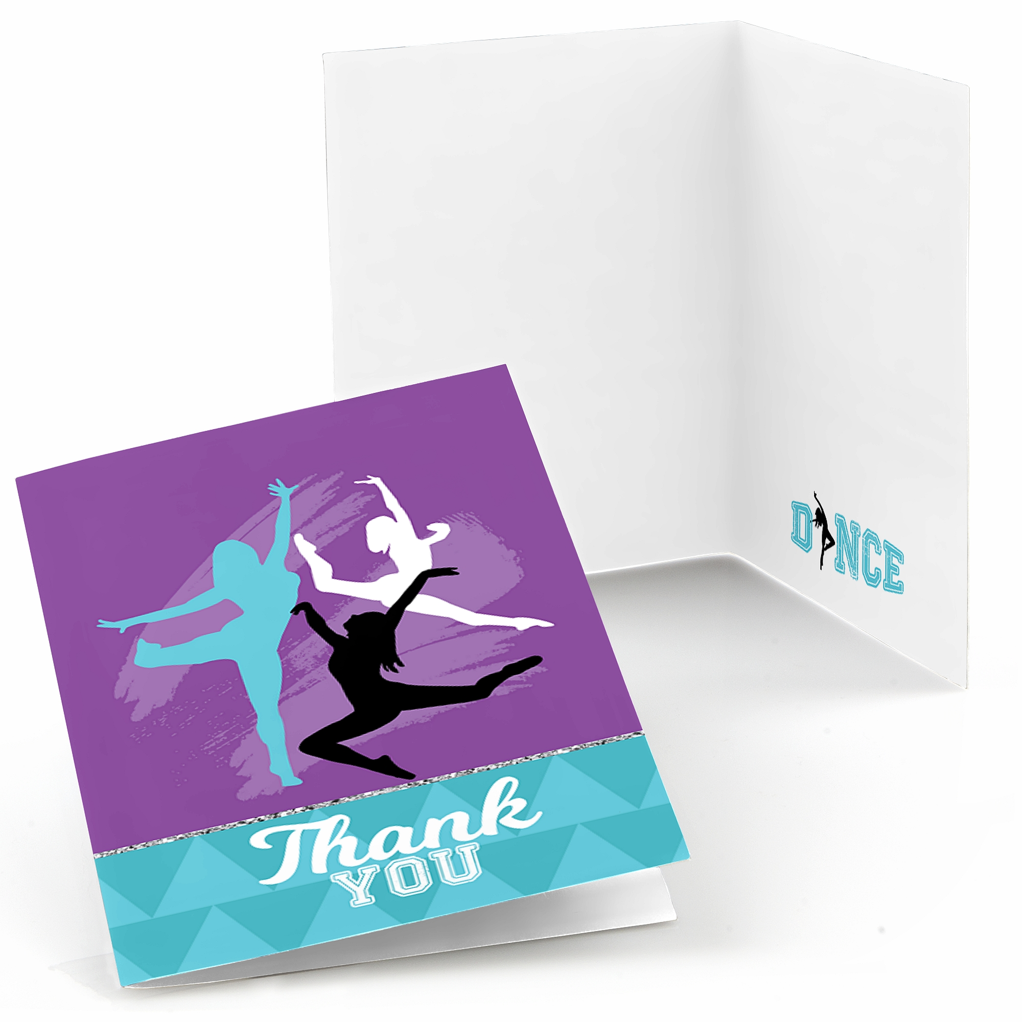 Must Dance to the Beat - Dance - Party Thank You Cards (8 count)