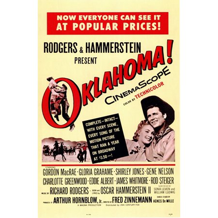Oklahoma (1955) 11x17 Movie Poster - Oklahoma Aquarium Halloween