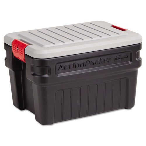 Rubbermaid 325-1172-04-38 ActionPacker 24 Gallon Storage Container/Cargo Box