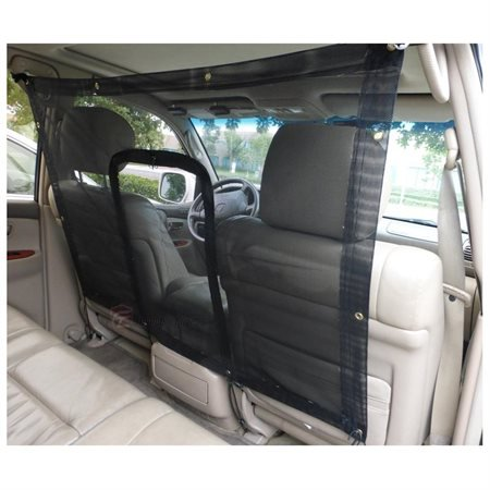 Formosa Covers Car Seat Mesh Net Pet Barrier With Zipper