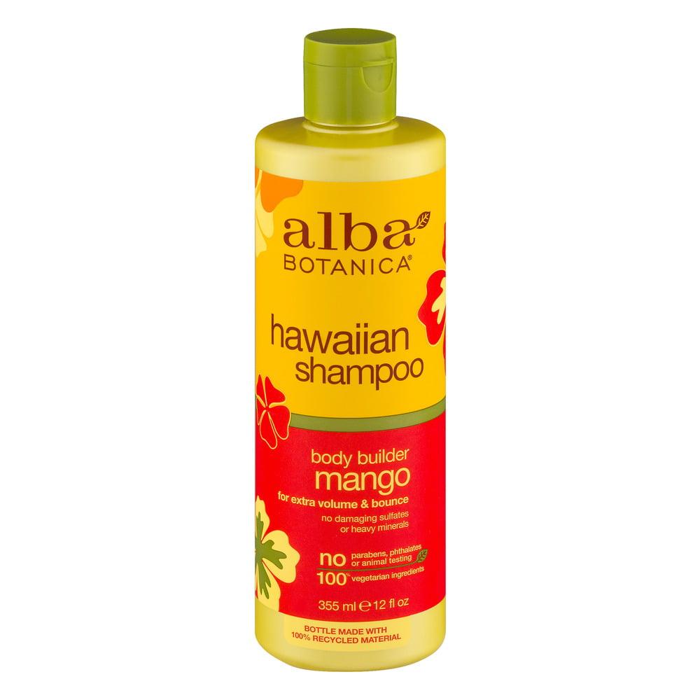 Alba Botanica Hawaiian Shampoo Body Builder Mango, 12.0 FL OZ