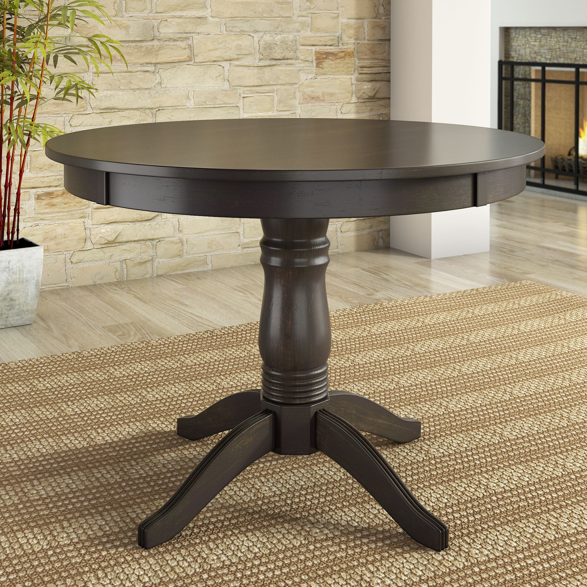 Lexington Round Dining Table, Multiple Colors by Weston Home