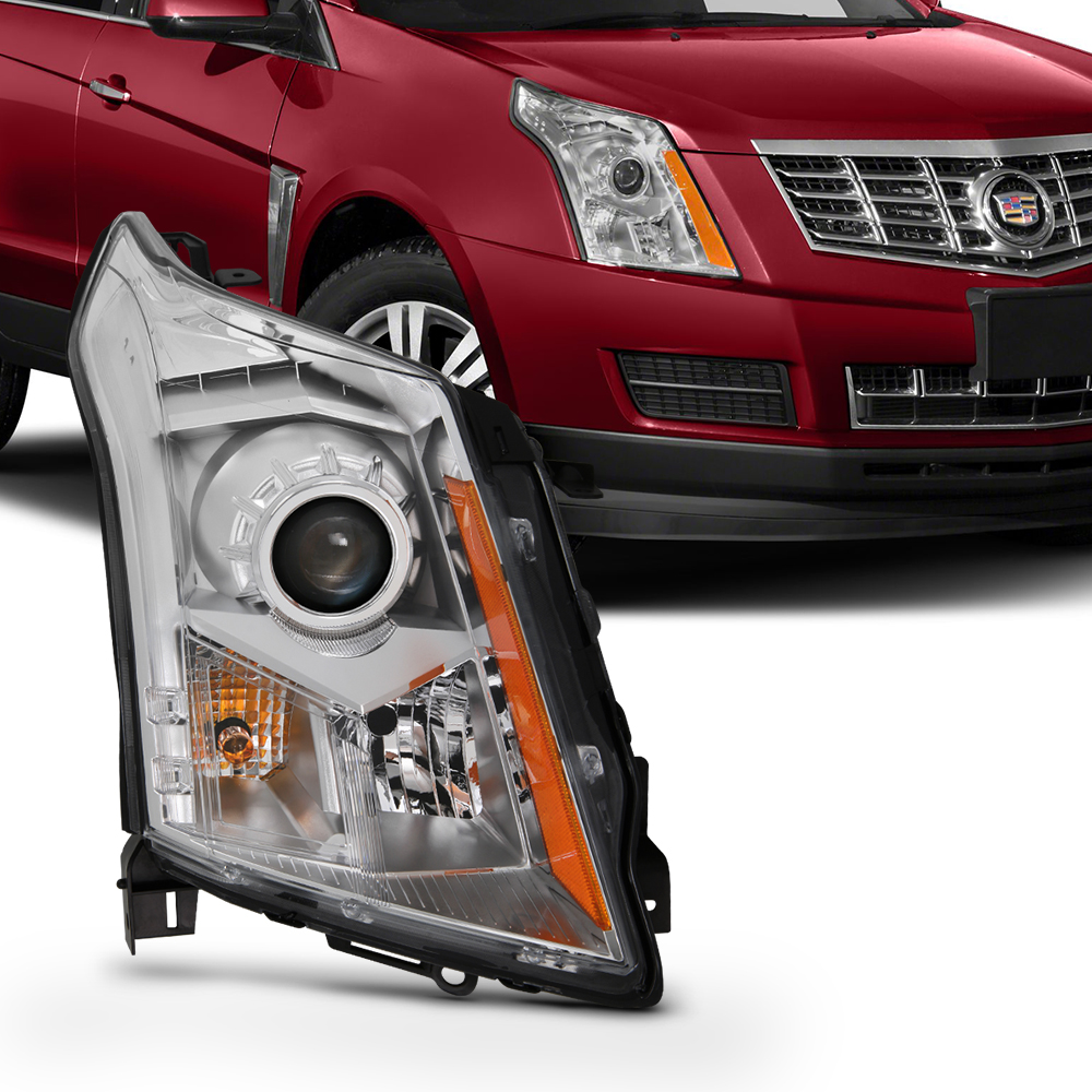 Fits 2010-2016 Cadillac SRX Passenger Right Side Halogen Headlight Replacement
