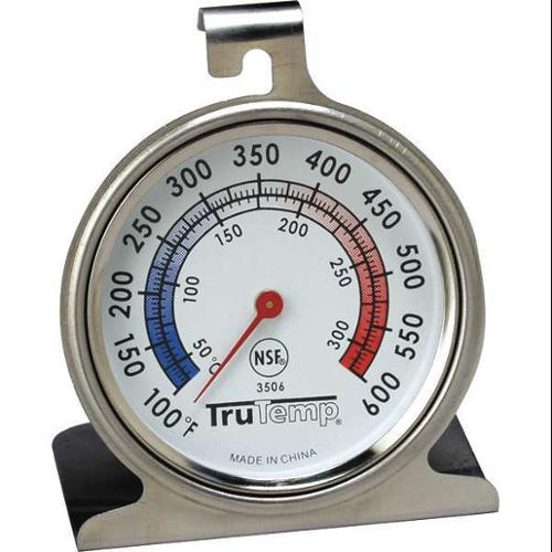 TRUTEMP 3506 Oven Thermometer, 100 to 600F