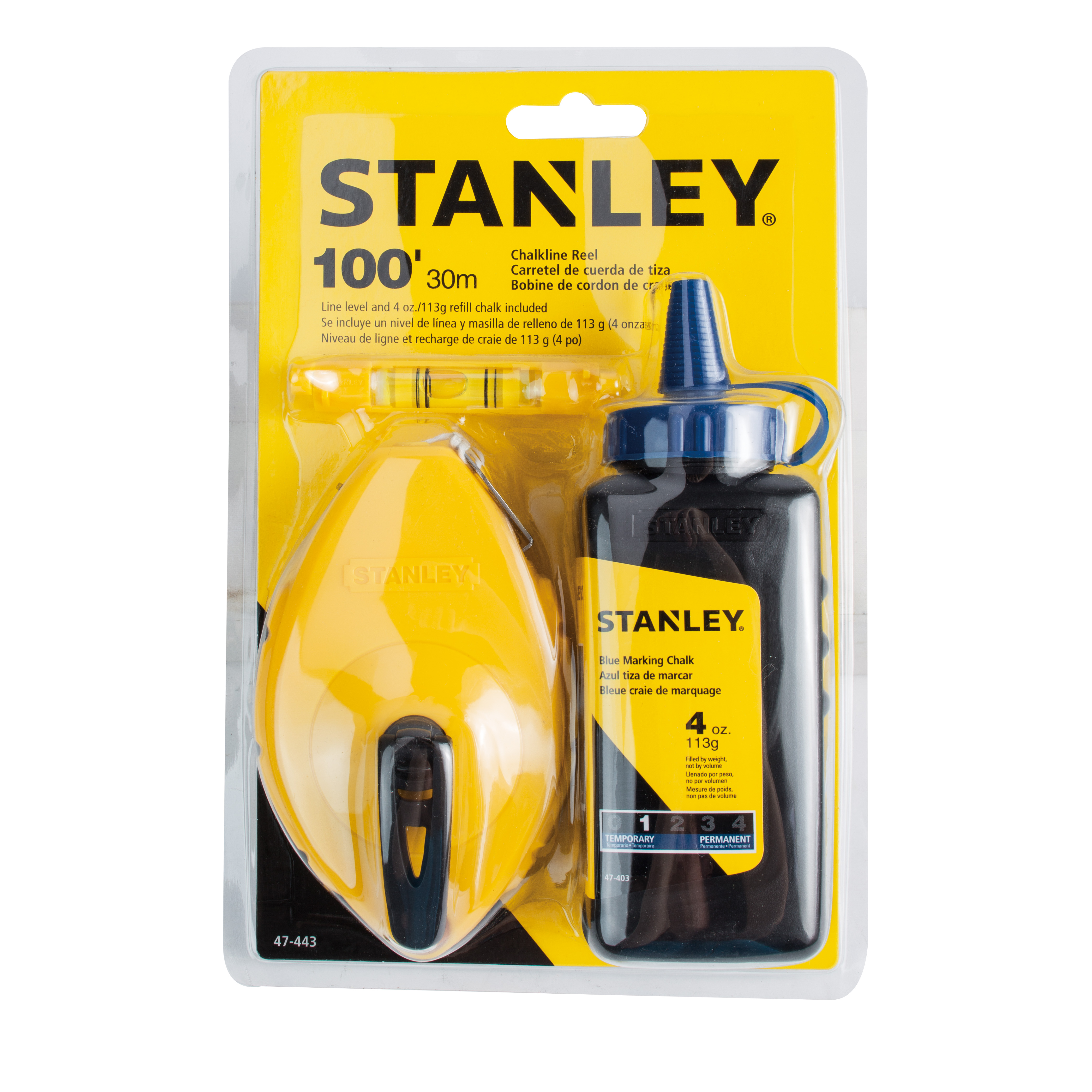 STANLEY® 47-443 - 3 Piece Chalk Box Set