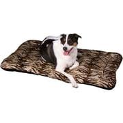 Lucky Dog Pet Pillow Cushion with Tiger Print