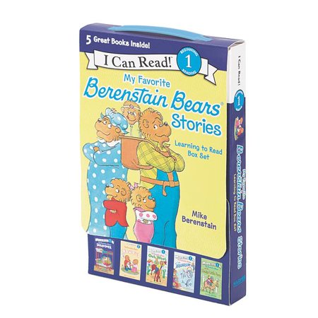 My Favorite Berenstain Bears Stories : Learning to Read Box