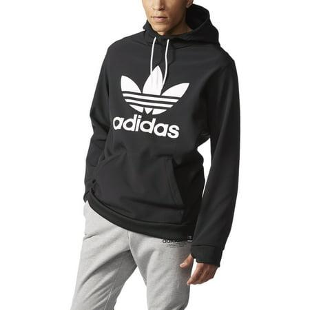 ef5ba01b351a Adidas - Adidas Originals Team Tech Men s Hoodie Black White ab7939 -  Walmart.com