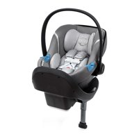 Cybex Aton M Newborn Infant Baby Car Seat with SafeLock Base, Manhattan Gray