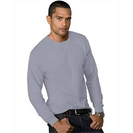 5286 Men 5.2 Oz Comfortsoft Heavyweight T-Shirt Light Steel Grey Extra Large - image 1 de 1