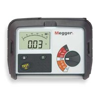 MEGGER MIT330-EN Battery Operated Megohmmeter,1000VDC