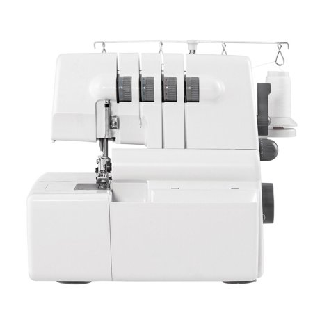 Gymax Overlock Serger Sewing Machine 2 Needle 4 Thread Capability w Differential