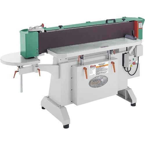"""Grizzly G9984 9"""" x 138-1/2"""" Industrial Oscillating Edge Sander"""