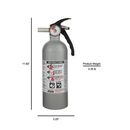 Kidde Fire Auto Fire Extinguisher, Model FX5 II, 5 B:C Rated