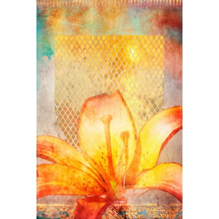 Fire Lily Poster Print by Aimee Stewart