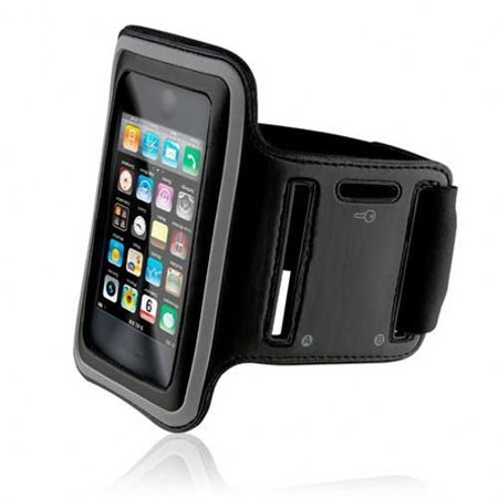 promo code f11f7 070a9 Armband Sports Gym Workout Cover Case Arm Strap Jogging Band Pouch Neoprene  Black B5 for iPhone 6 Plus 6S Plus 7 Plus - HTC Bolt - LG Stylo 3, V10 - ...