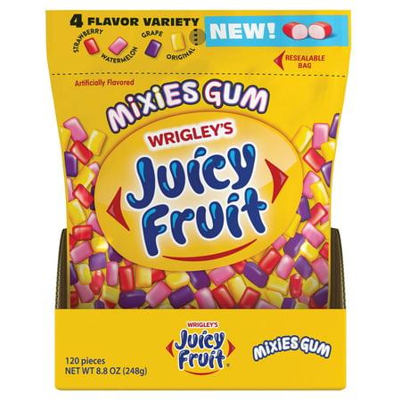 Wrigleys Juicy Fruit Mixes Gum 120 Pieces Walmartcom