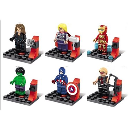 OliaDesign Super Heroes Avengers minifigure LEGO Compatible Minifigures Minifig (Lego Minifigure Super)