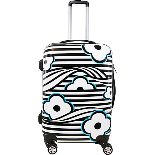 ful Floral Hardside 28in Spinner Upright Luggage