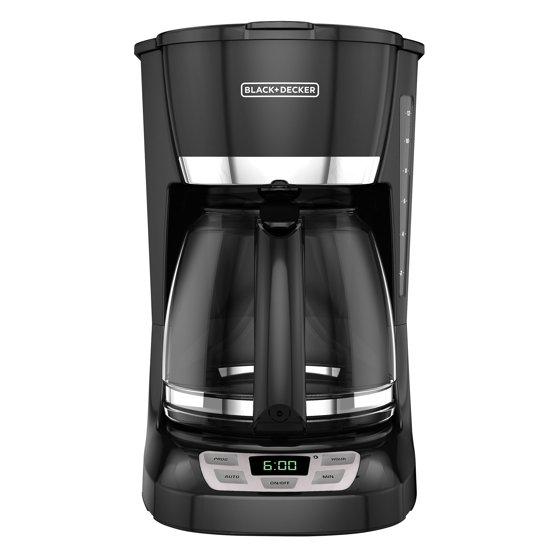 Blackdecker 12 Cup Quicktouch Programmable Coffeemaker Black
