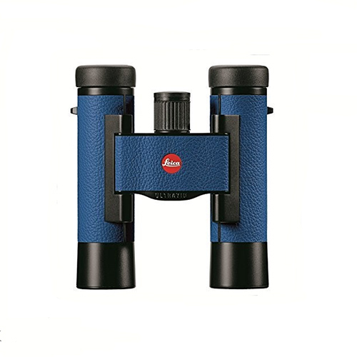 Leica Sport Optics Ultravid Colorline Binocular 10x25mm, Roof Prism, Capri Blue by Leica Sport Optics