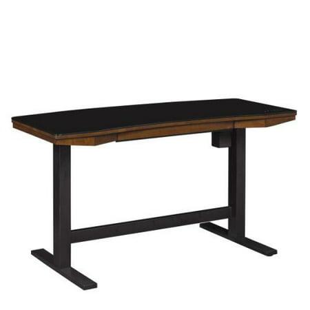 Twin Star Thoreau Adjustable Height Desk - Meridian Cherry