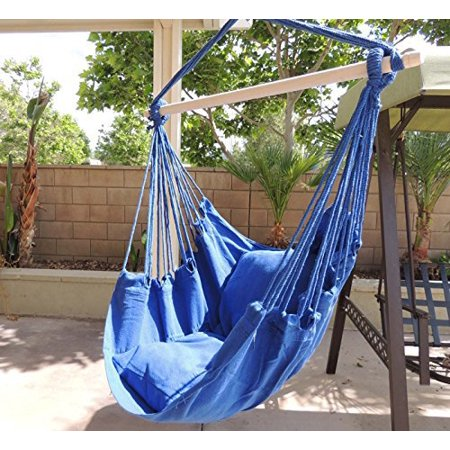 hammock chair hanging rope chair porch swing outdoor. Black Bedroom Furniture Sets. Home Design Ideas
