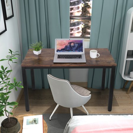 Napoo Computer Desk 40' Modern Sturdy Office Desk Study Writing Desk for Home Office